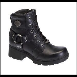 Harley Davidson Jocelyn Black Boots